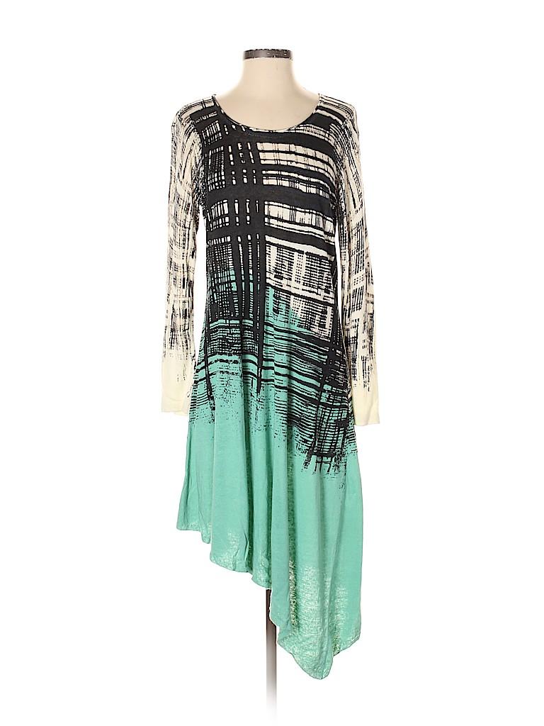 Nic + Zoe Women Casual Dress Size S