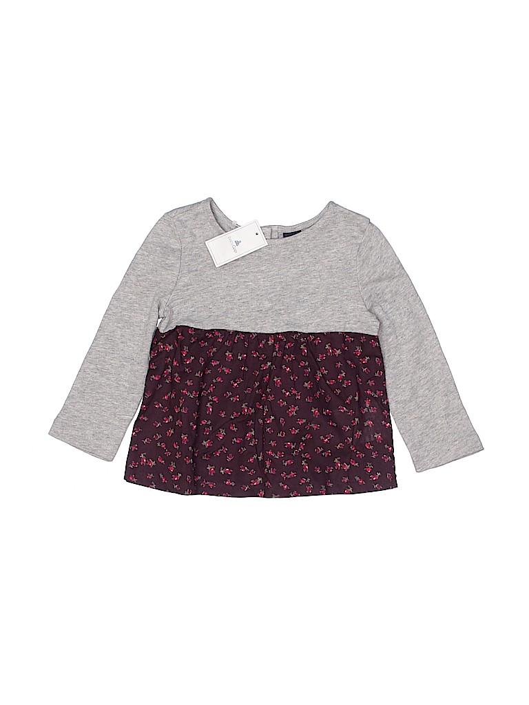 Baby Gap Girls 3/4 Sleeve Top Size 12-18 mo