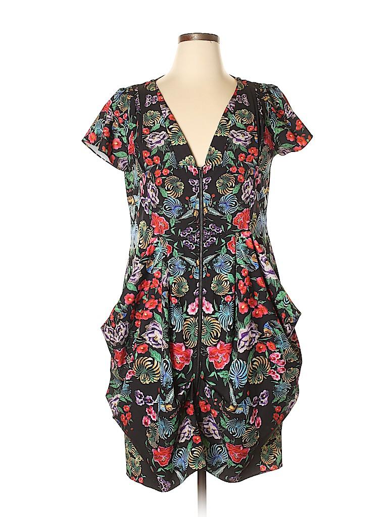 City Chic Women Casual Dress Size 16 Plus (S) (Plus)