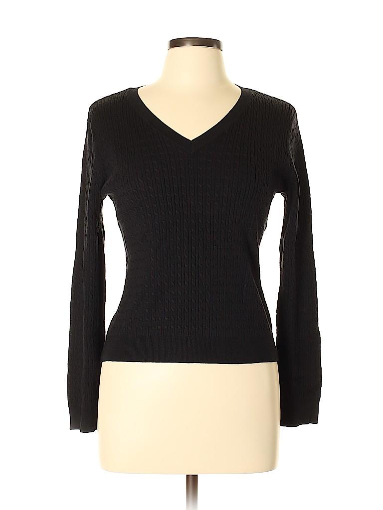 B. Moss Women Pullover Sweater Size L