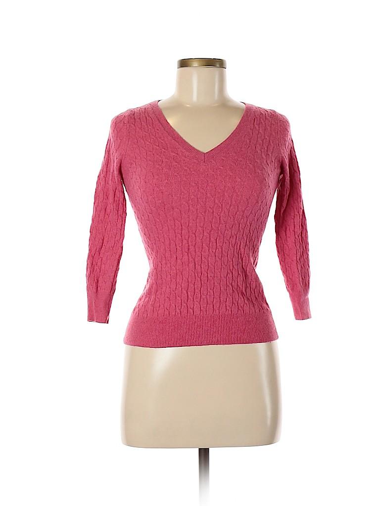 Banana Republic Women Cashmere Pullover Sweater Size XS