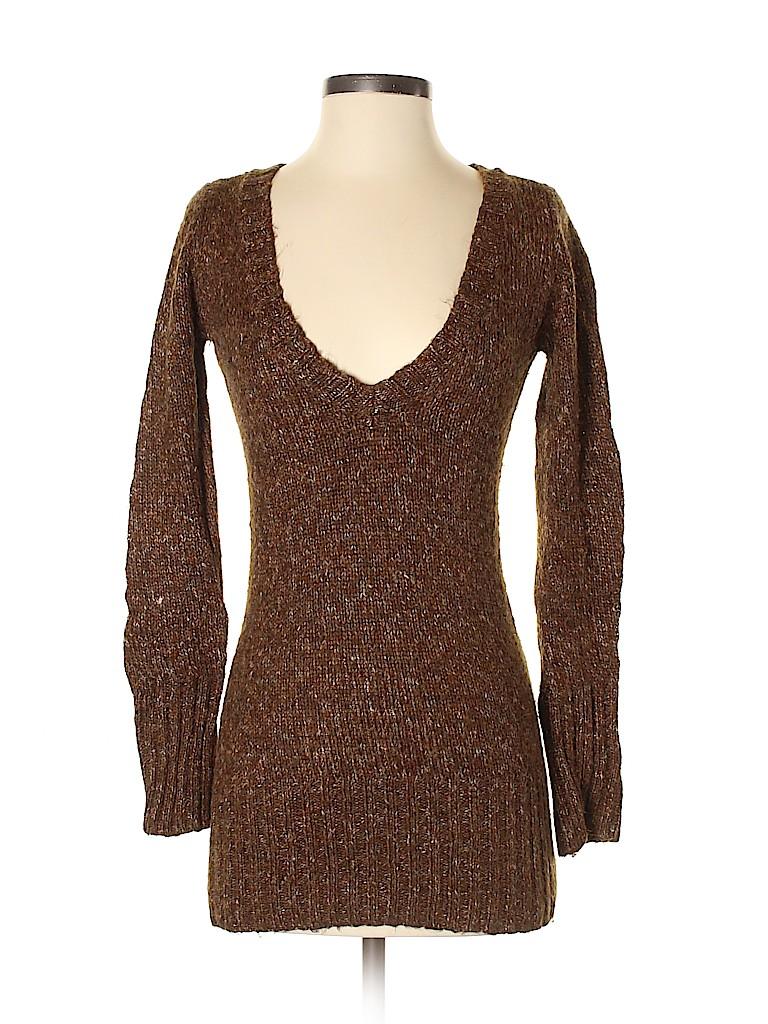 Aqua Women Pullover Sweater Size XS