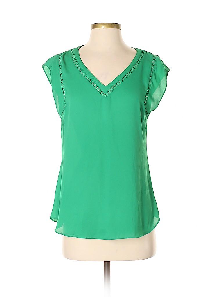 41Hawthorn Women Short Sleeve Blouse Size S
