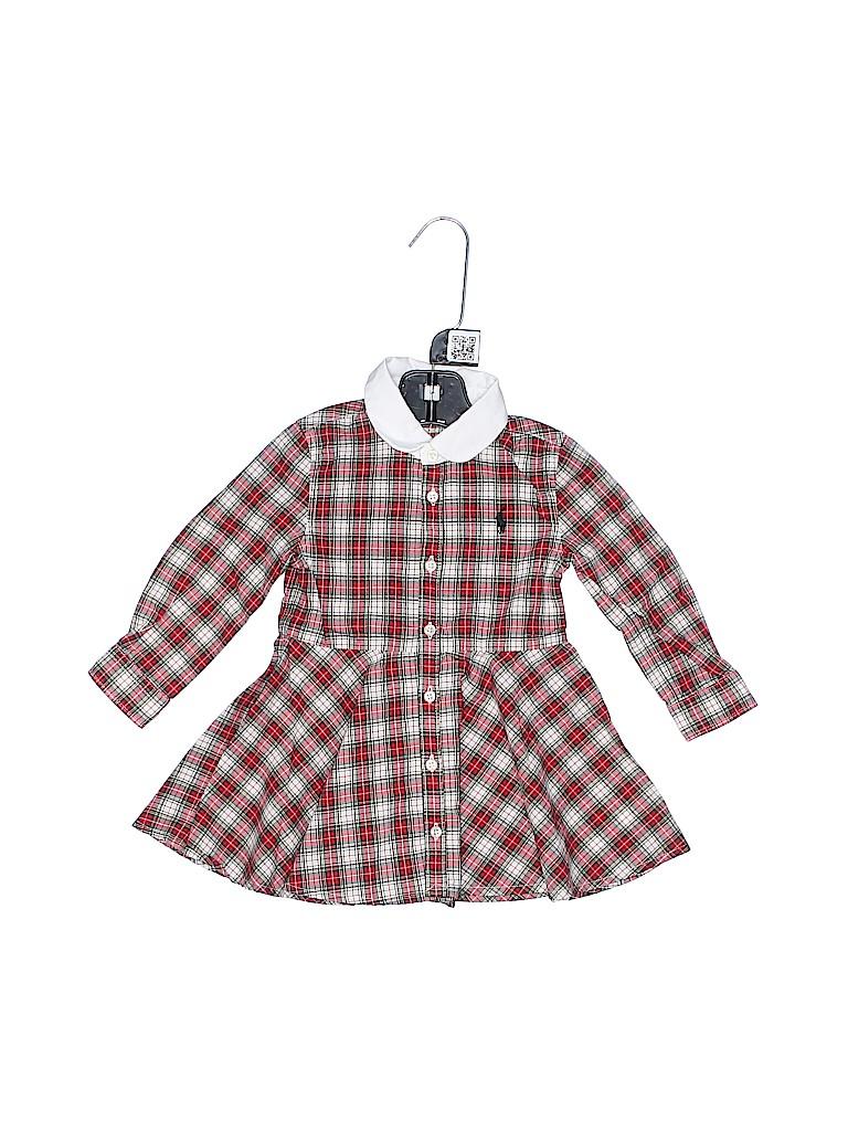 Ralph Lauren Girls Dress Size 12 mo