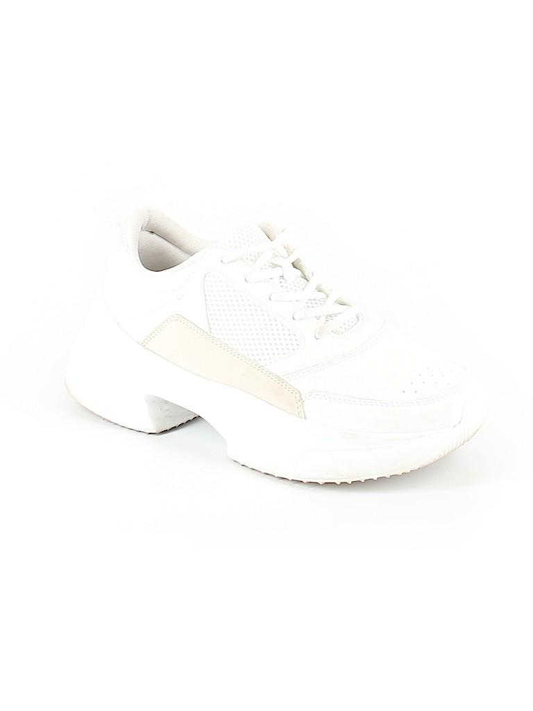 Zara White Sneakers Size 40 (EU) - 50