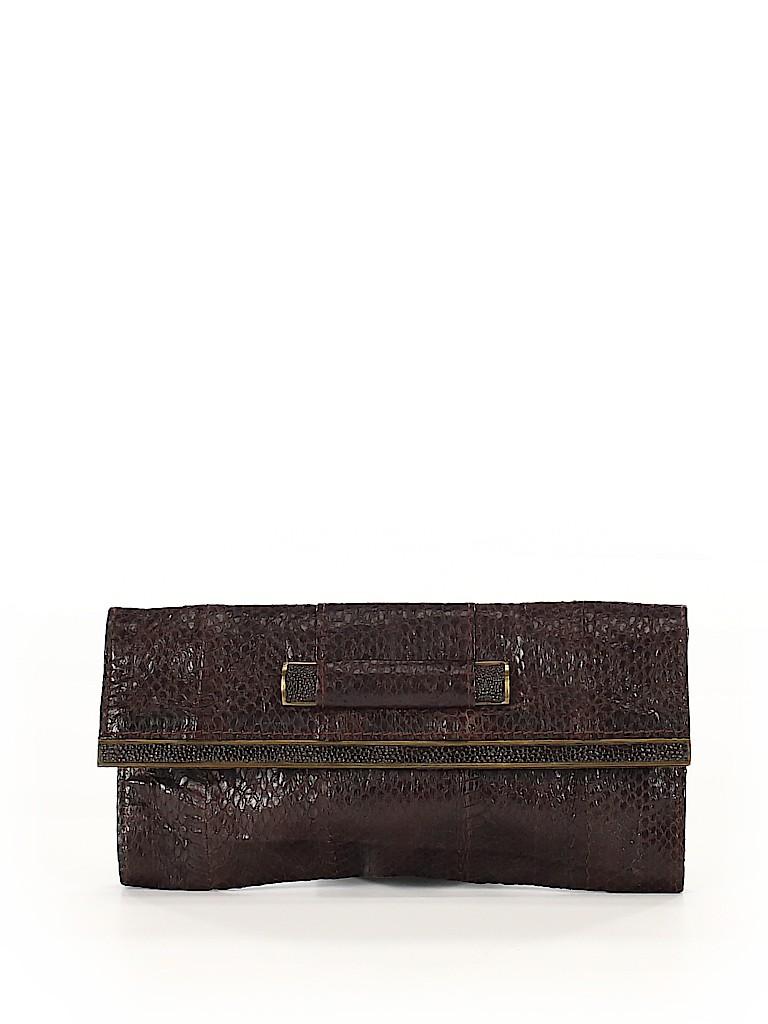 R&Y Augousti Women Leather Clutch One Size