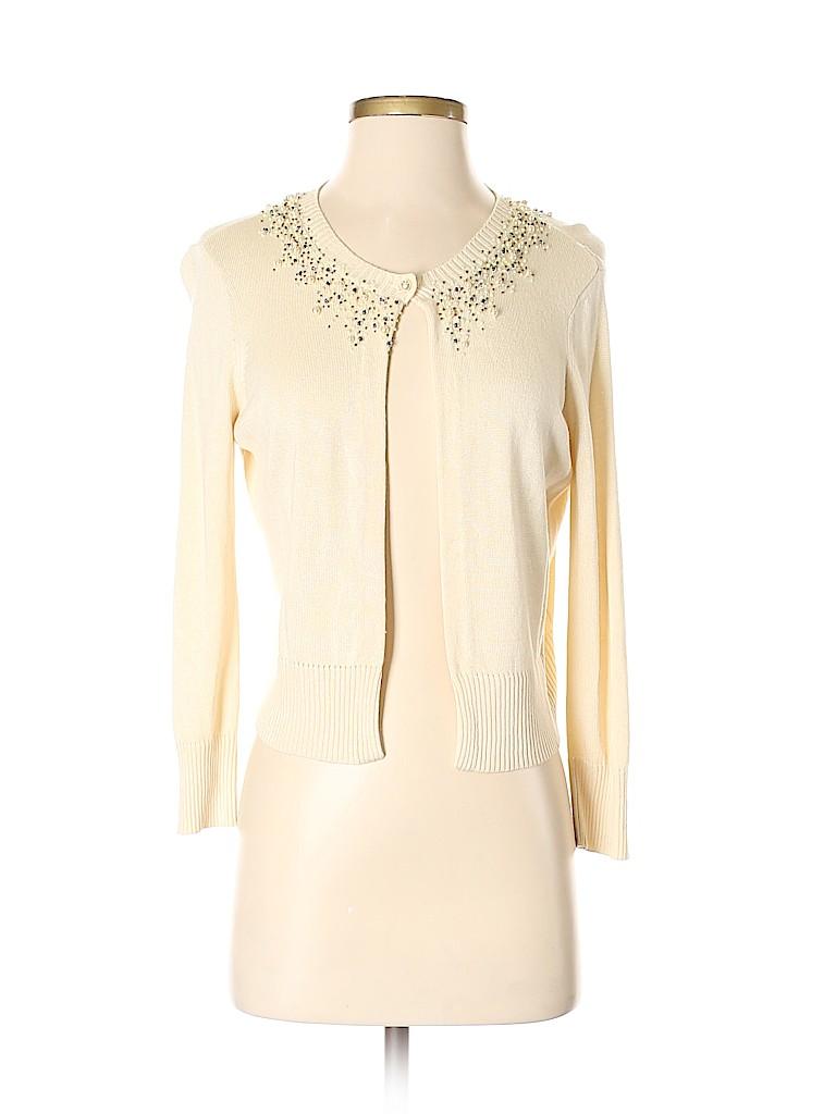 Robert Rodriguez Women Silk Cardigan Size S