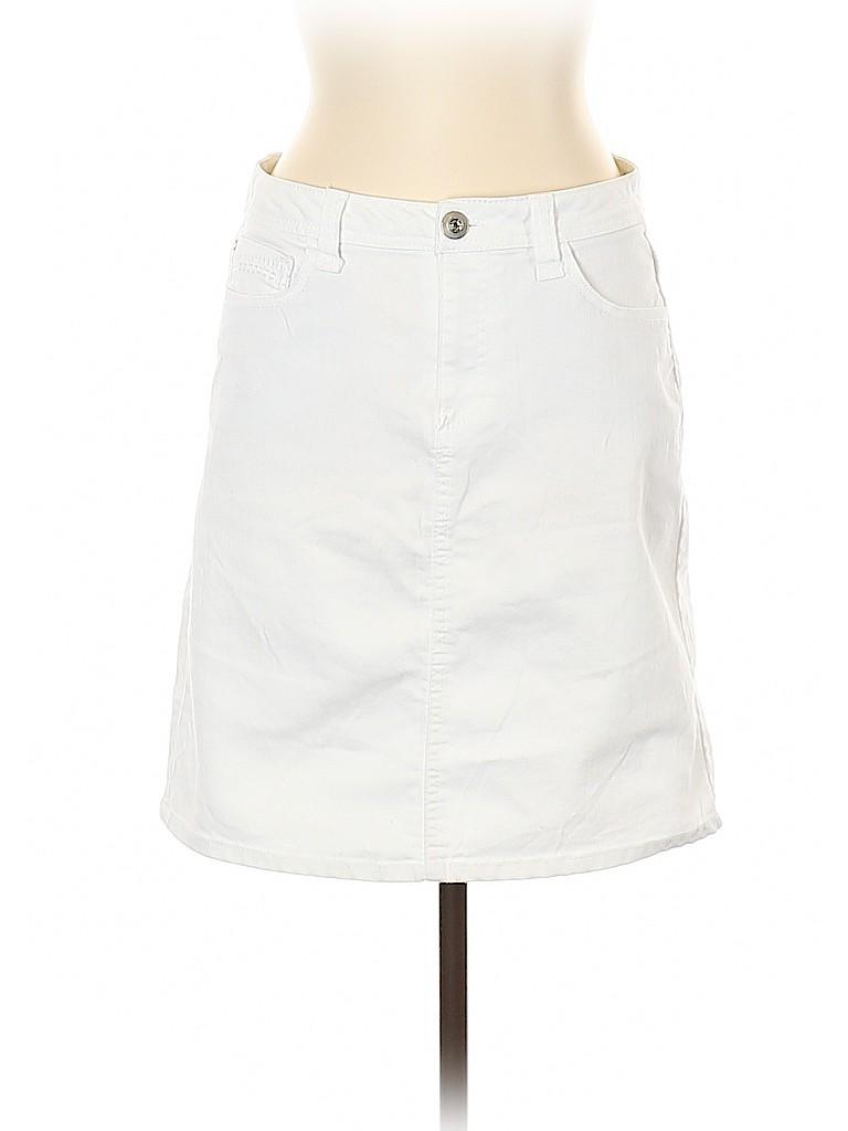 Baccini Women Denim Skirt Size 6
