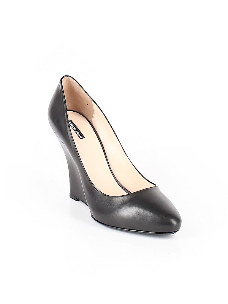 Giorgio Armani Women Wedges Size 40.5 (EU)