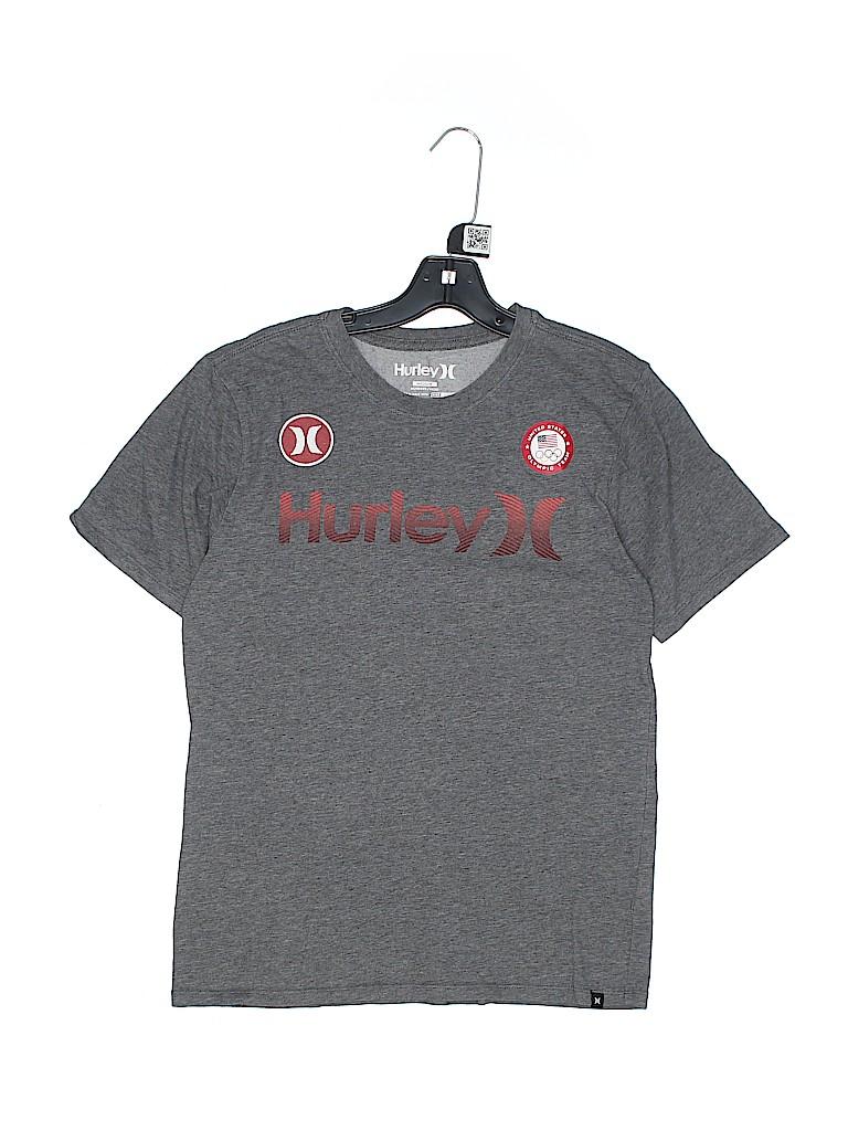 Hurley Boys Short Sleeve T-Shirt Size M (Youth)