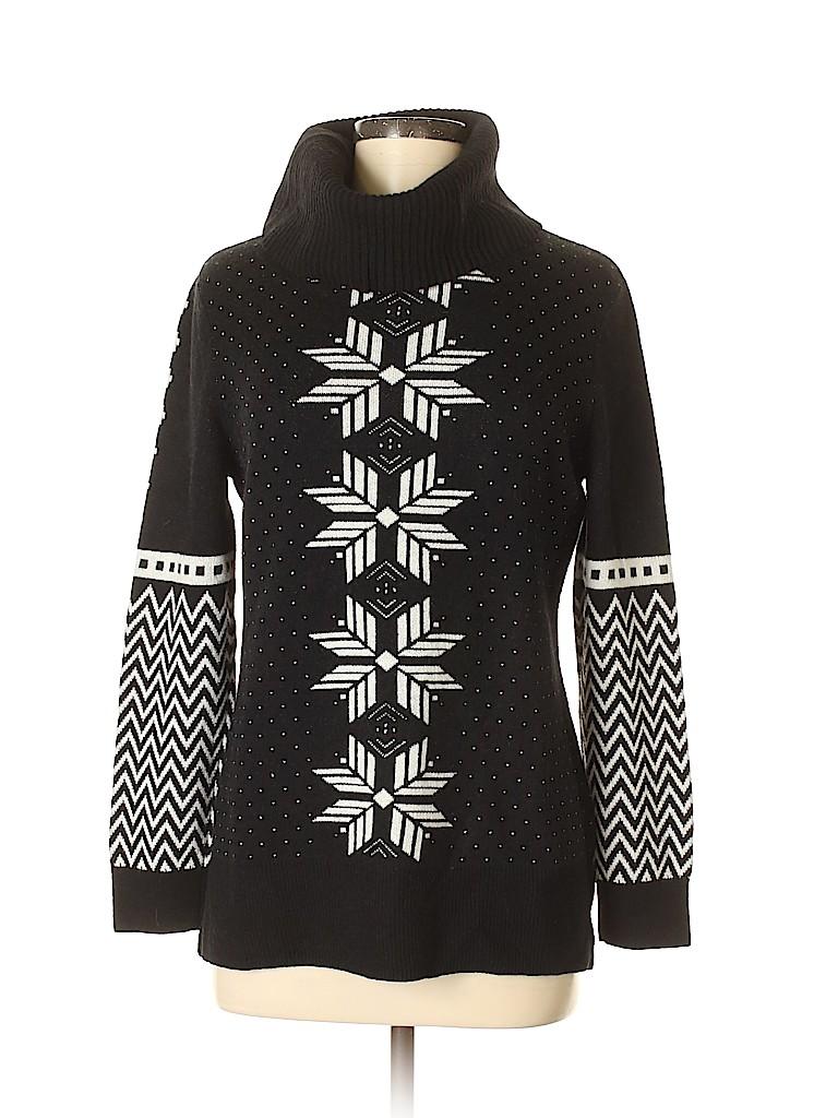 Talbots Women Turtleneck Sweater Size M