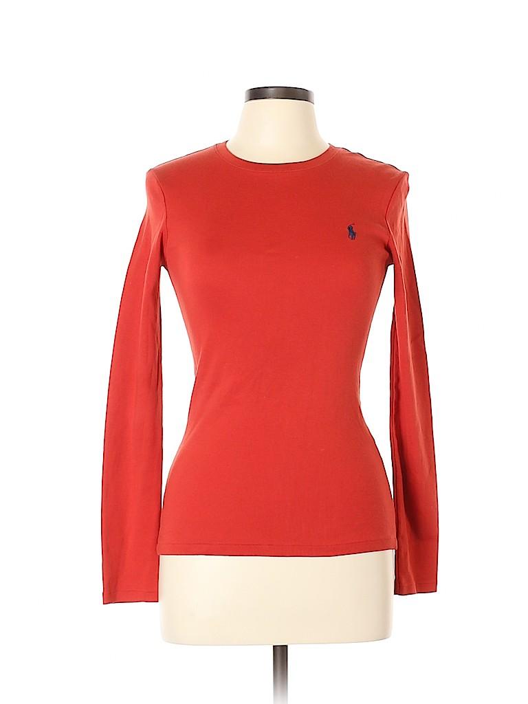 Ralph Lauren Women Long Sleeve T-Shirt Size L