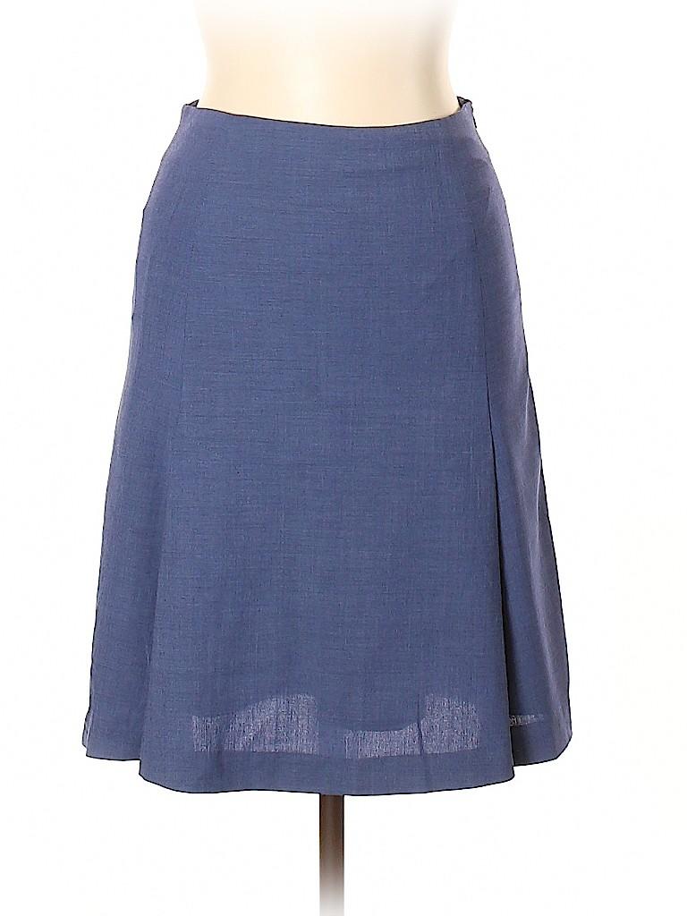 Piazza Sempione Women Wool Skirt Size 42 (IT)