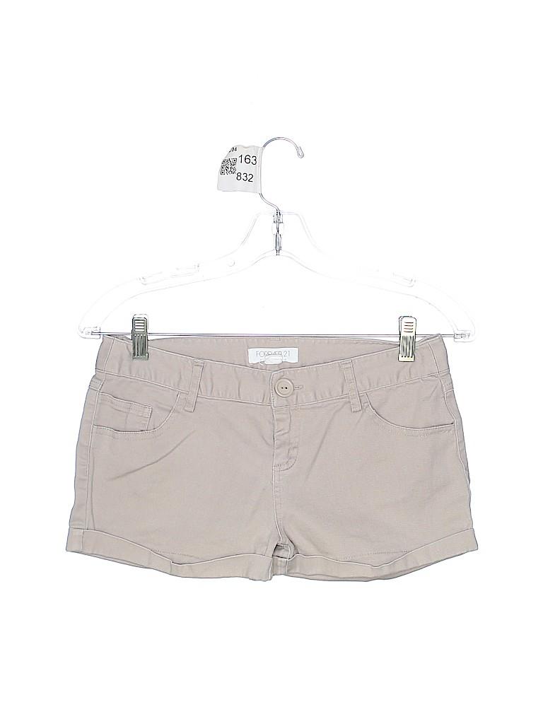 Forever 21 Women Denim Shorts Size 2