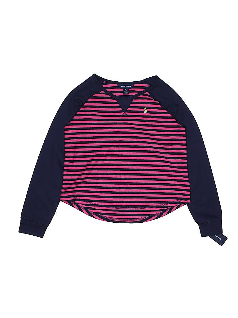 Ralph Lauren Girls Long Sleeve T-Shirt Size 12-14
