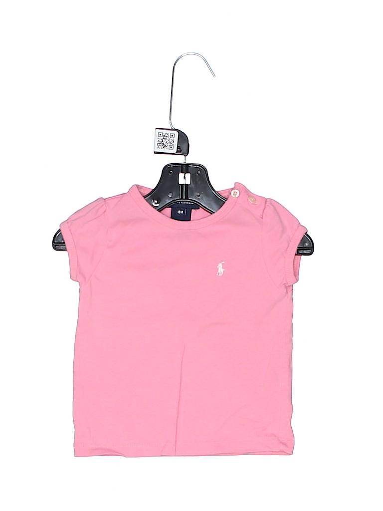 Ralph Lauren Girls Short Sleeve Top Size 18 mo