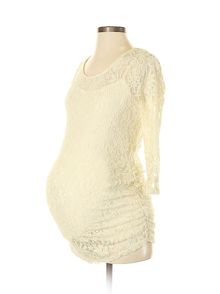 Jessica Simpson Women 3/4 Sleeve Top Size S (Maternity)