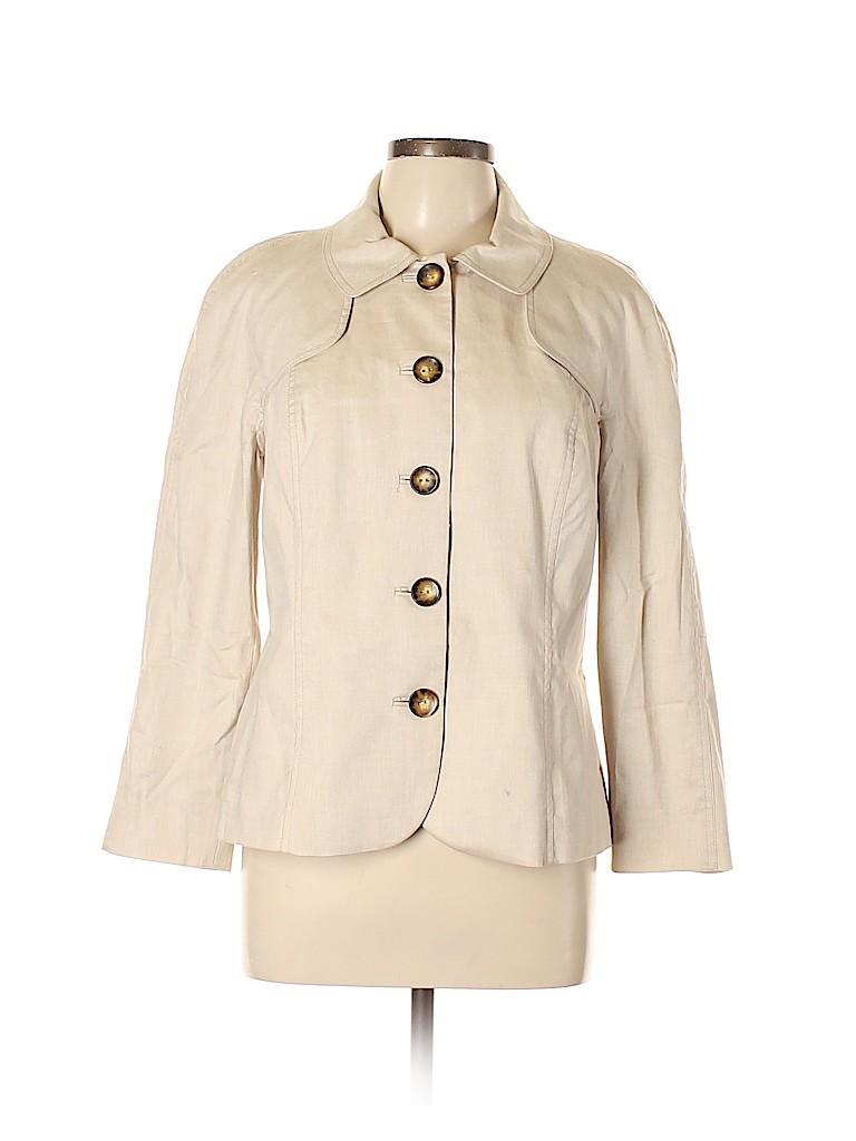 Magaschoni Women Jacket Size 14 (Petite)