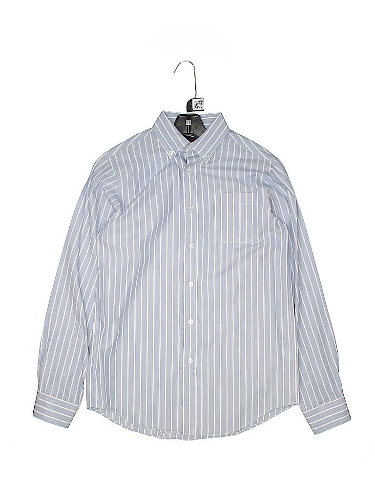Class Club Boys Long Sleeve Button-Down Shirt Size 16