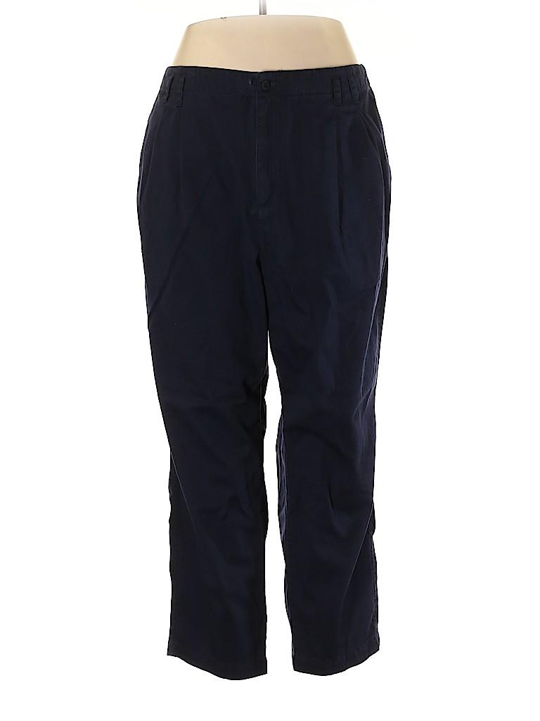 Liz Claiborne Women Casual Pants Size 22 (Plus)