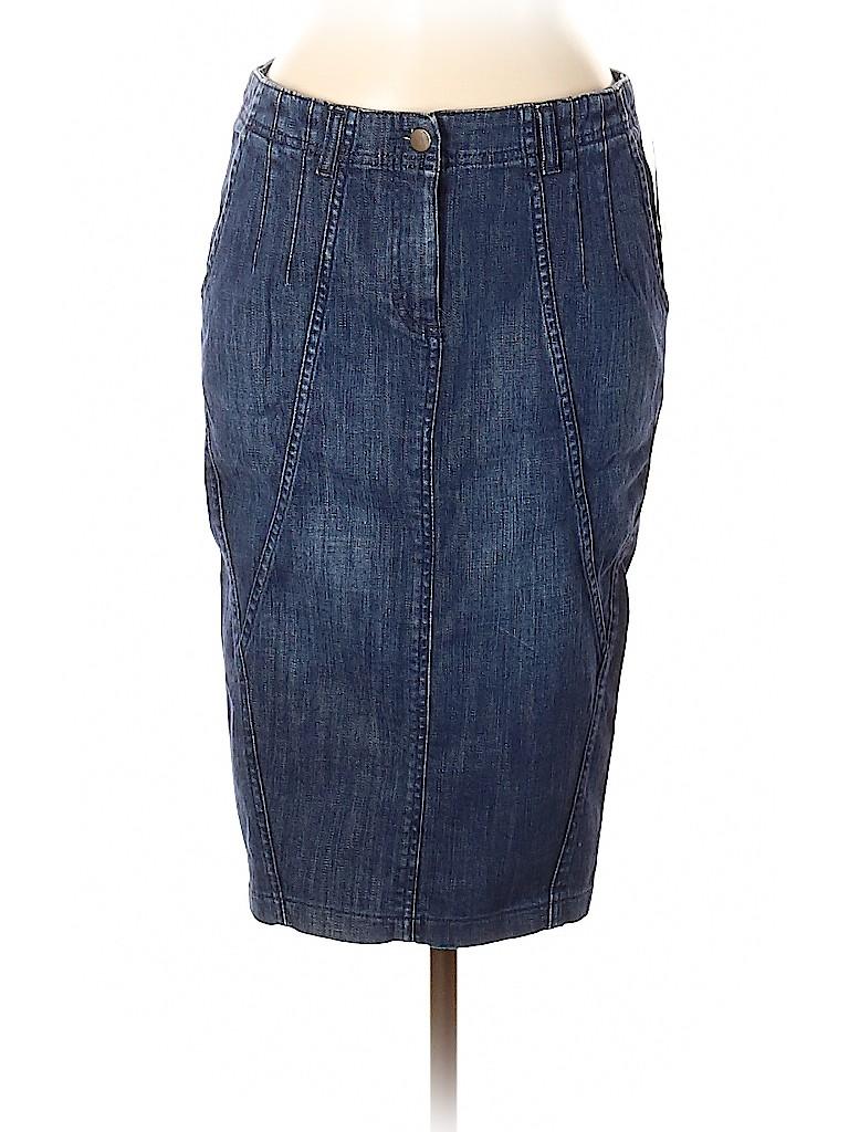 H&M Women Denim Skirt Size 8