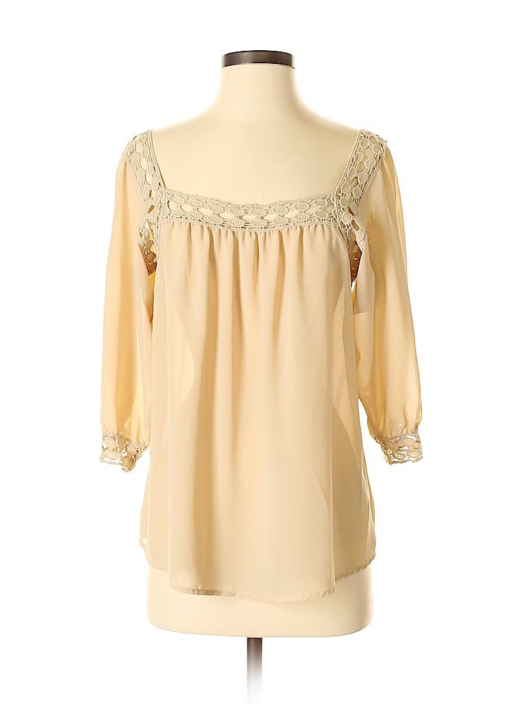 Love Stitch Women 3/4 Sleeve Blouse Size S