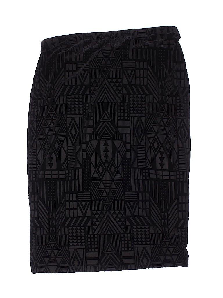 Flamingo Women Casual Skirt Size 3X (Plus)