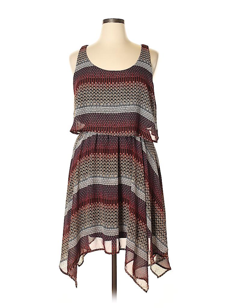 Love Delirious Los Angeles Women Casual Dress Size 1X (Plus)