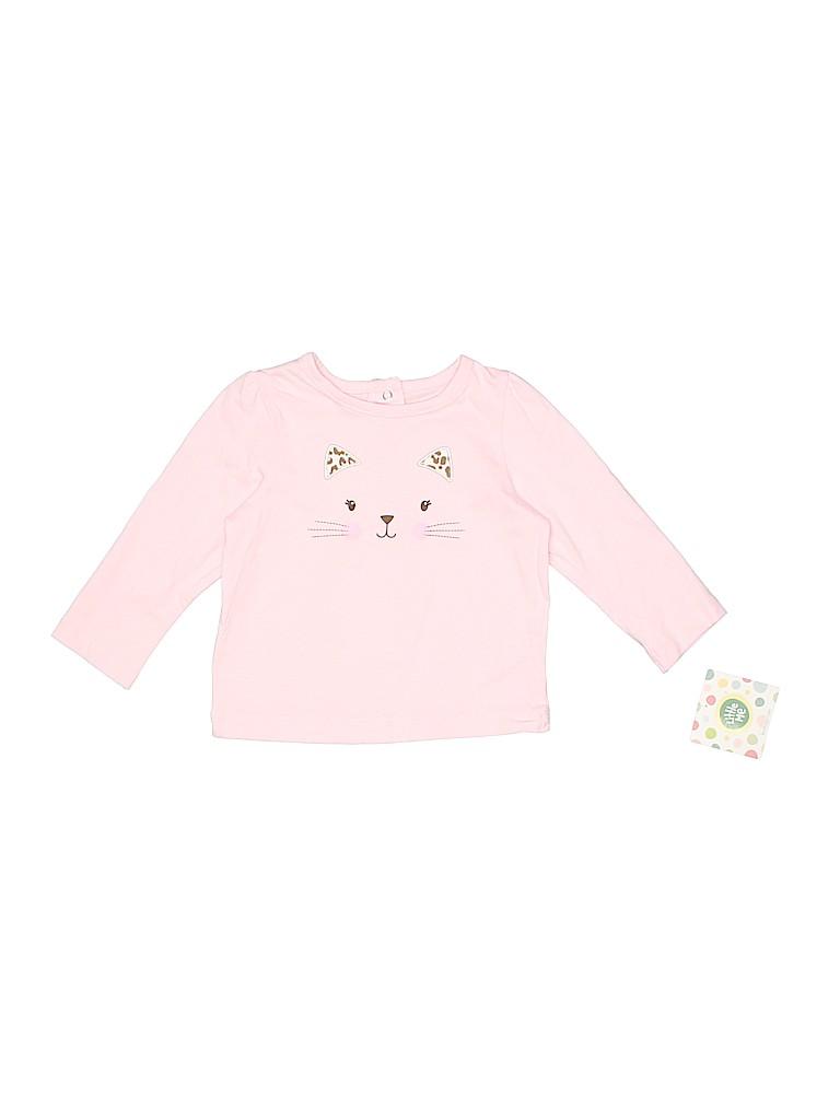 Little Me Girls Long Sleeve T-Shirt Size 24 mo