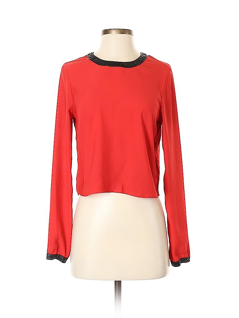 Guess Women Long Sleeve Blouse Size S