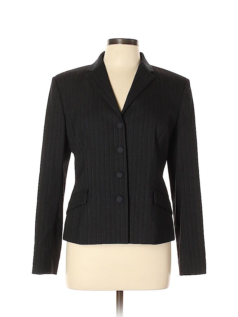 Piazza Sempione Women Wool Blazer Size 46 (IT)