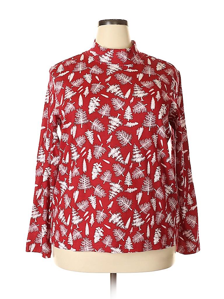 Blair Women Long Sleeve Top Size XL