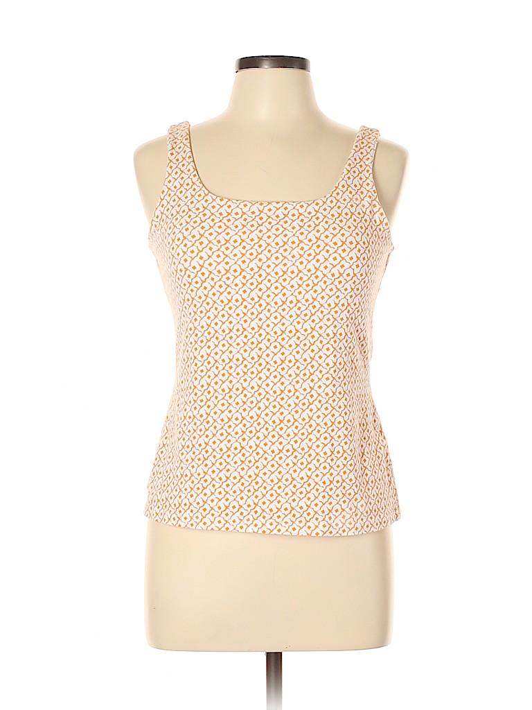 Basic Editions Women Sleeveless Top Size L