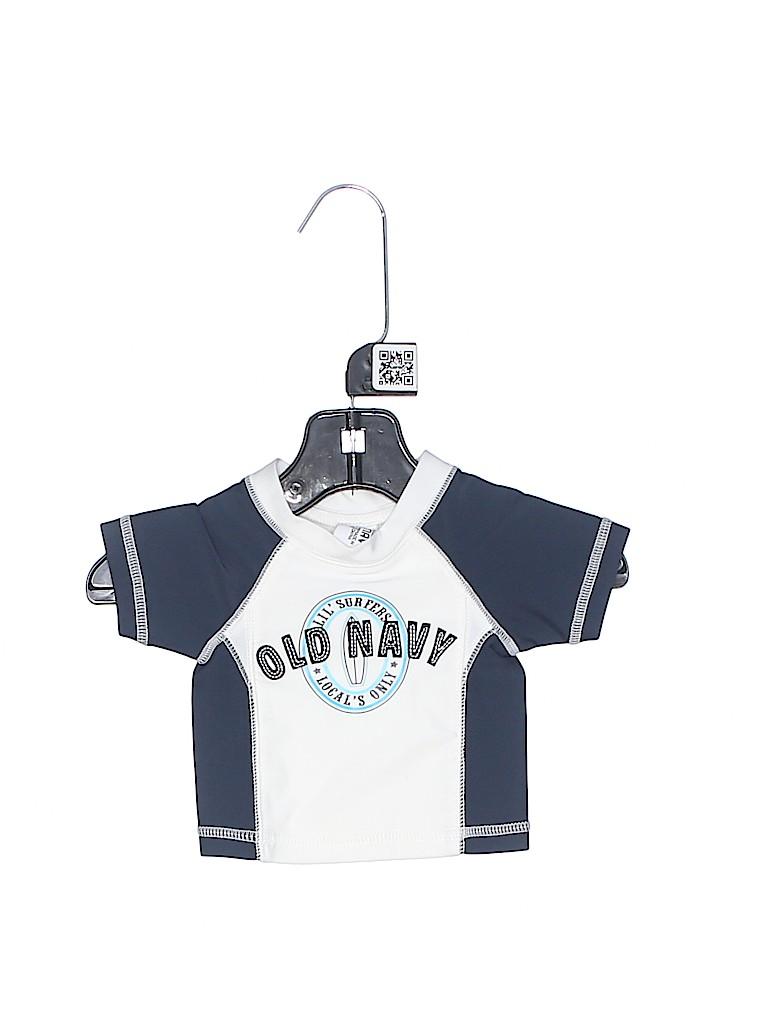 Old Navy Boys Rash Guard Size 0-3 mo