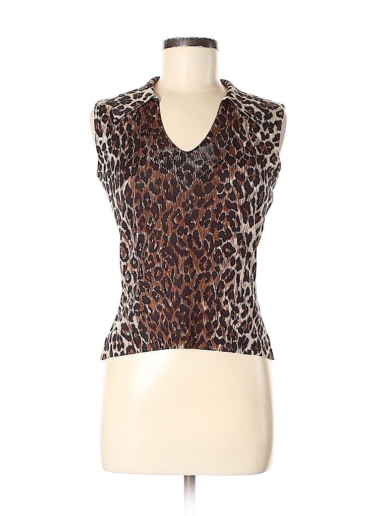 Dolce & Gabbana Women Silk Pullover Sweater Size 42 (IT)
