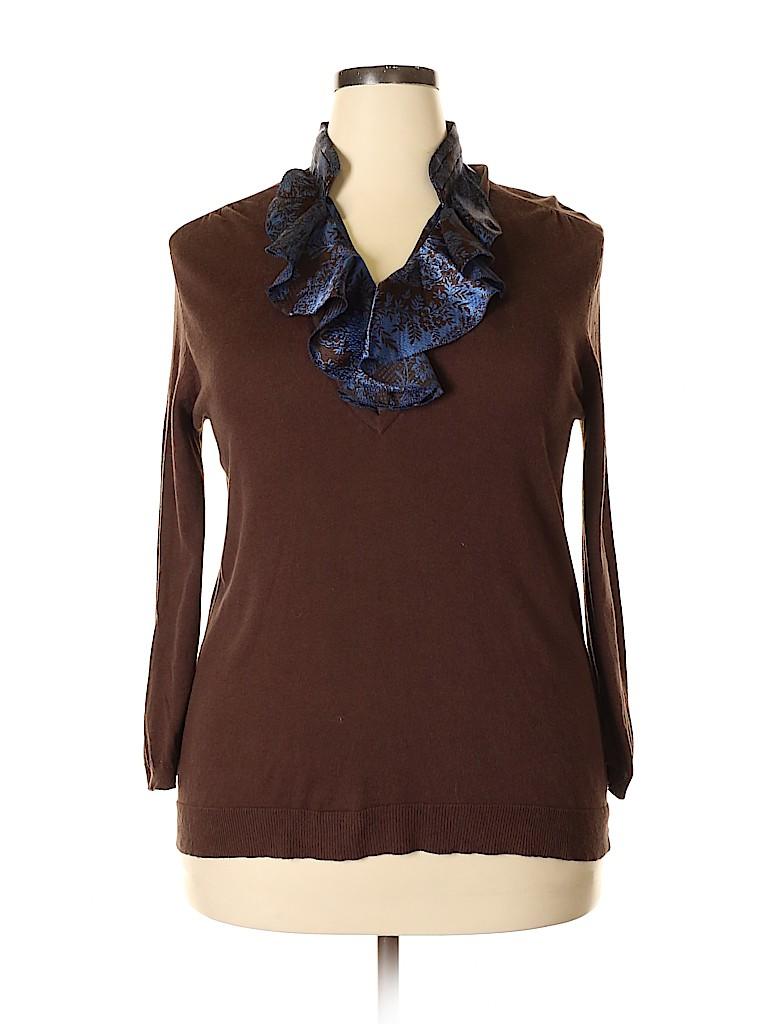 Jaclyn Smith Women Pullover Sweater Size XL
