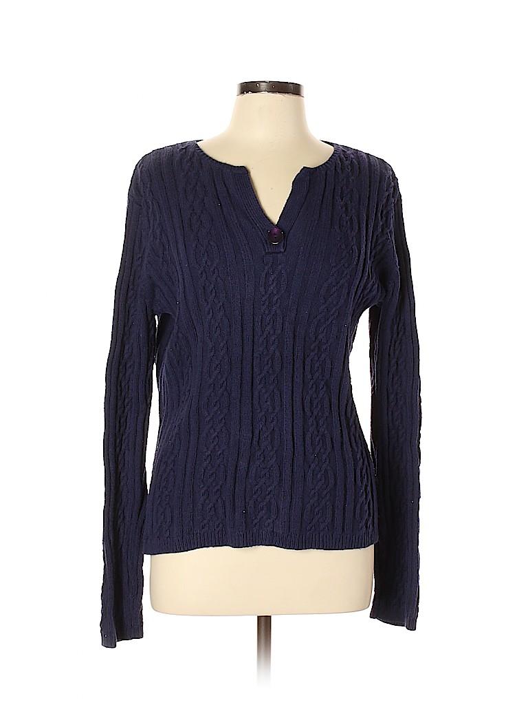 Talbots Women Pullover Sweater Size L