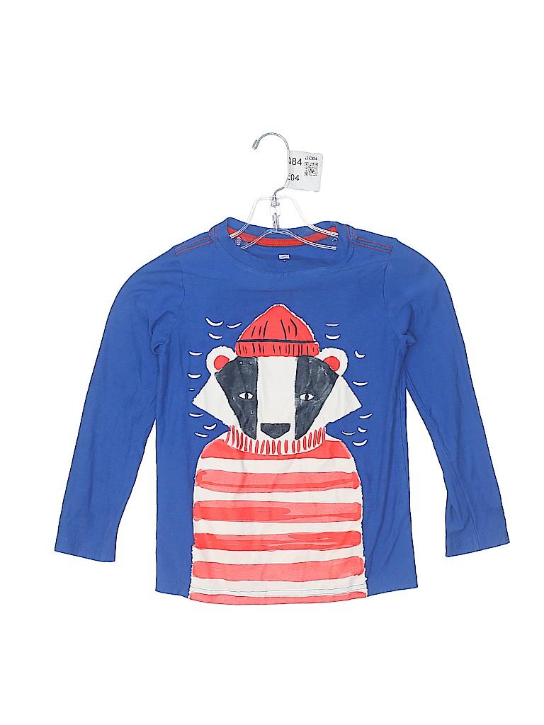 Tea Boys 3/4 Sleeve T-Shirt Size 8