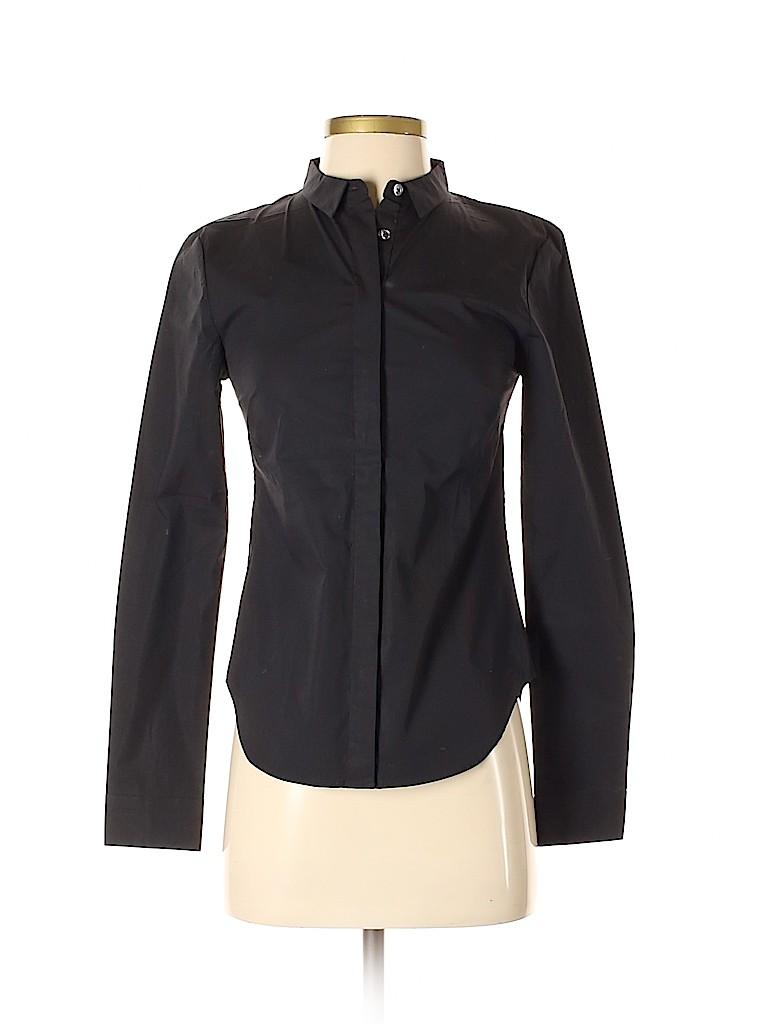 Armani Exchange Women Long Sleeve Button-Down Shirt Size XS