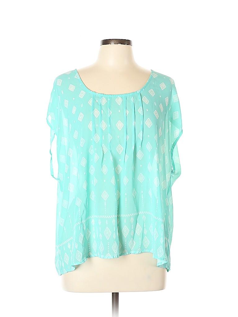 Torrid Women Short Sleeve Blouse Size 0X Plus (0) (Plus)