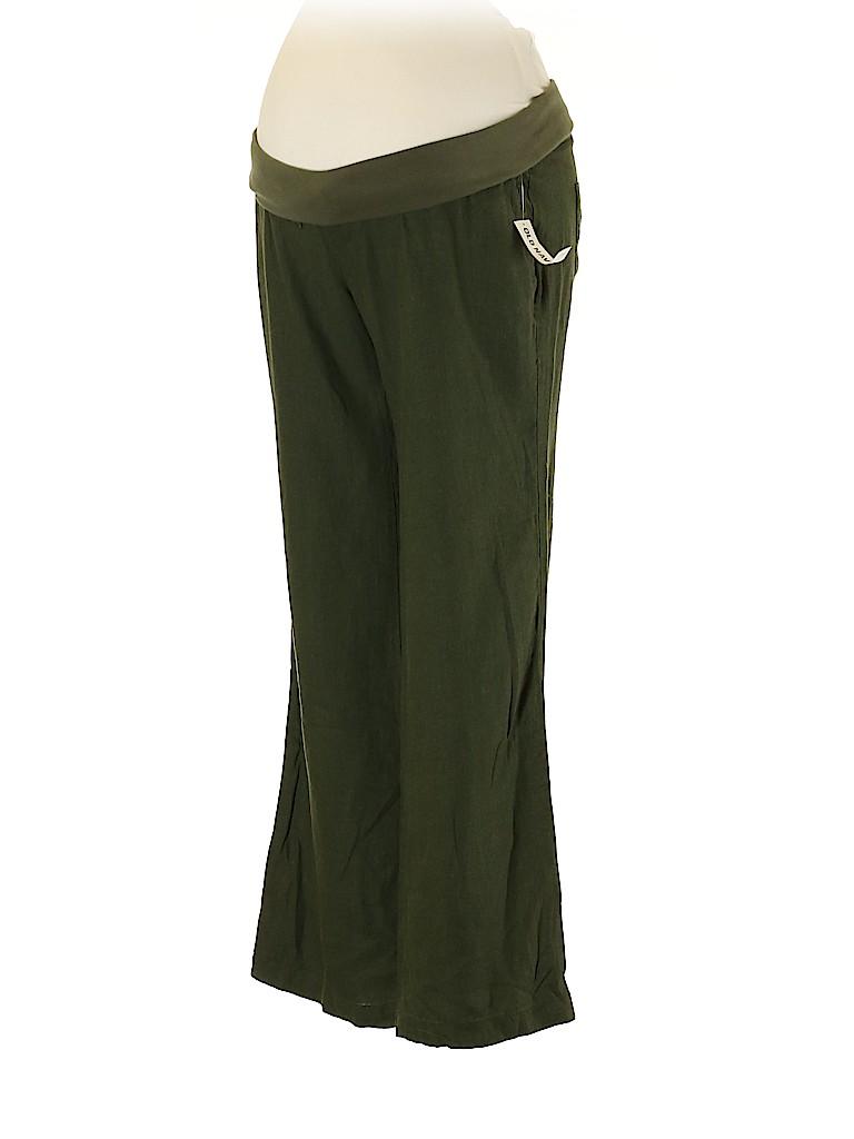 Old Navy - Maternity Women Linen Pants Size XS (Maternity)