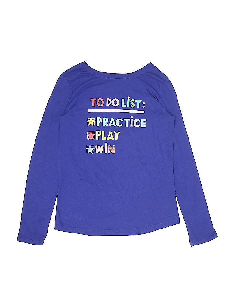 Cat & Jack Girls Long Sleeve T-Shirt Size 14 - 16