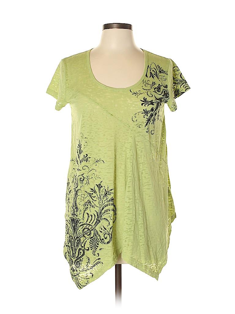 Roper Women Short Sleeve T-Shirt Size L