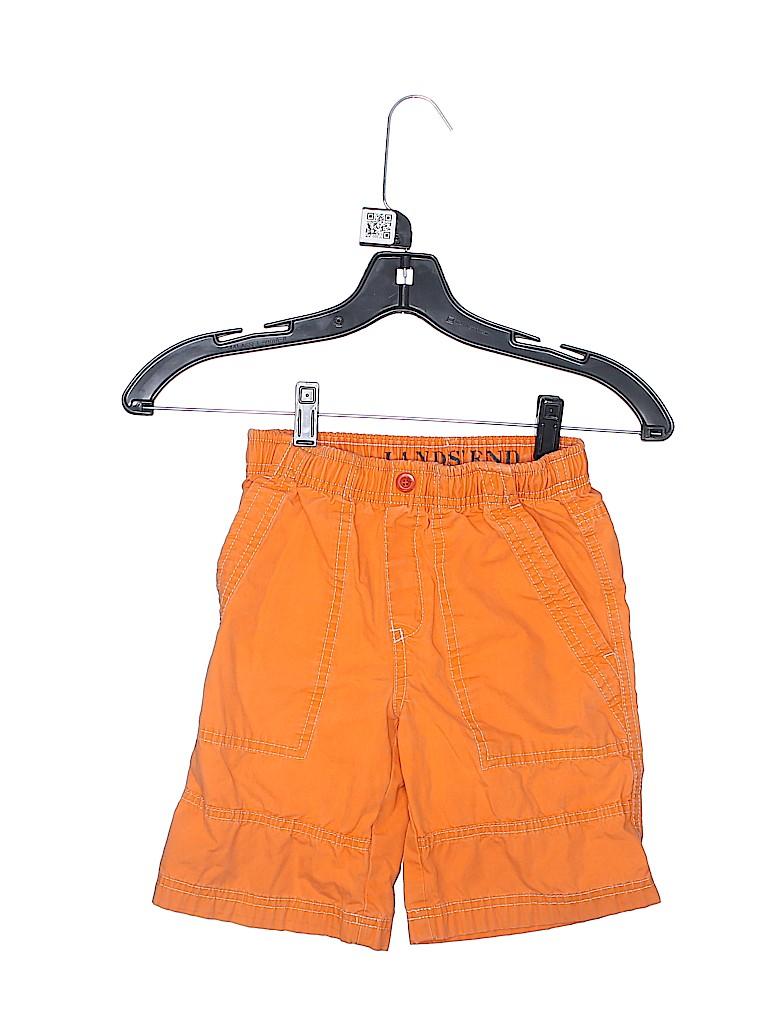 Lands' End Boys Khaki Shorts Size 5 - 6