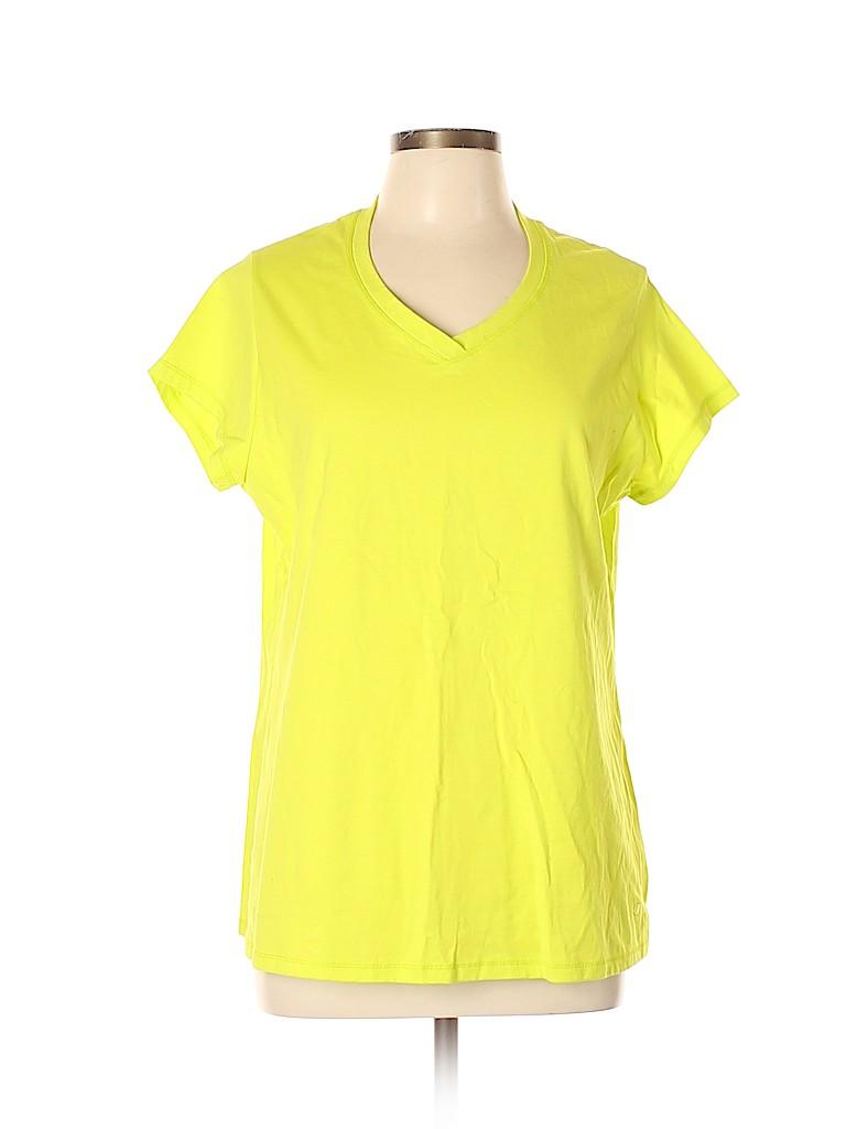 Champion Women Short Sleeve T-Shirt Size XL