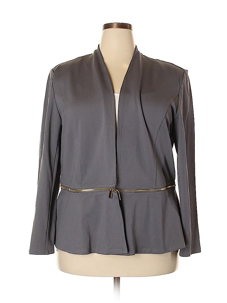 IMAN Women Jacket Size 2X (Plus)