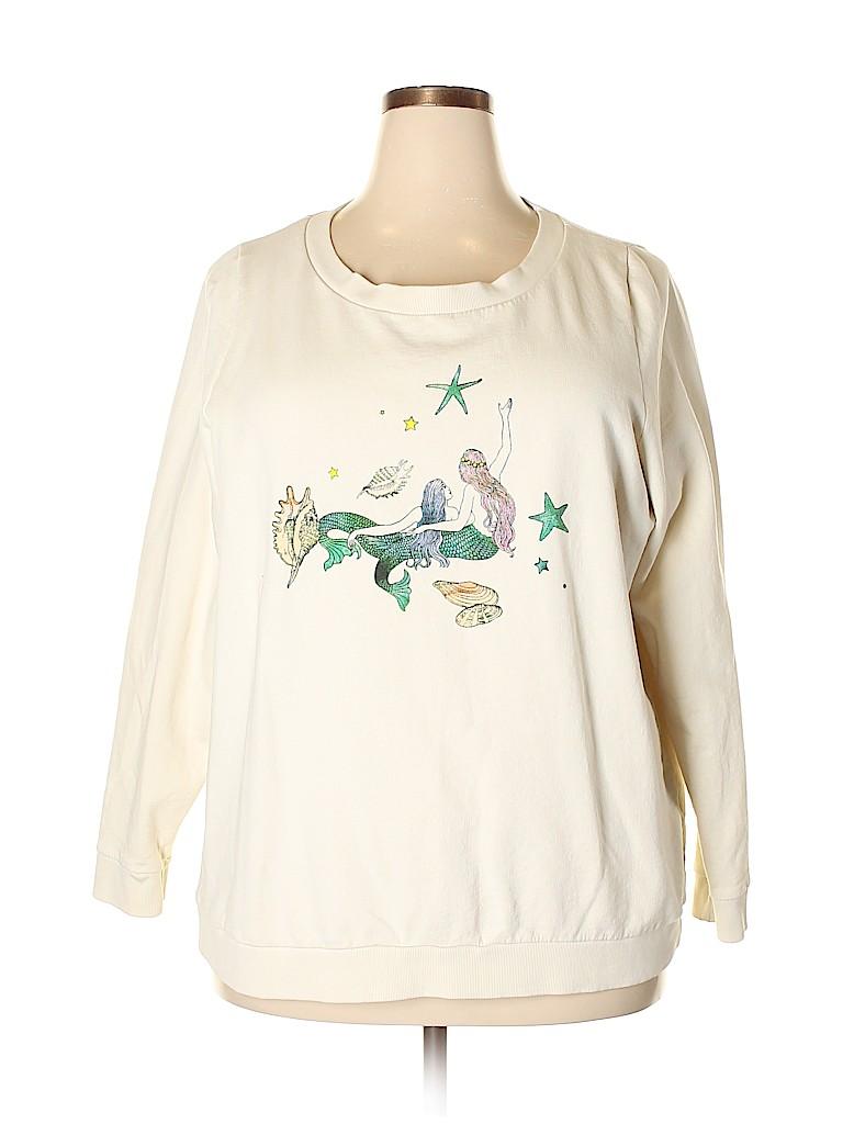 Fervour Women Sweatshirt Size 2X (Plus)