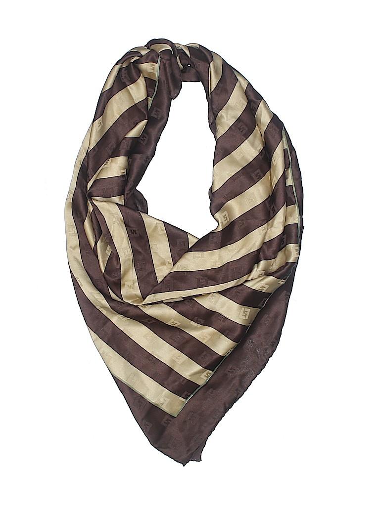 Fendi Women Silk Scarf One Size