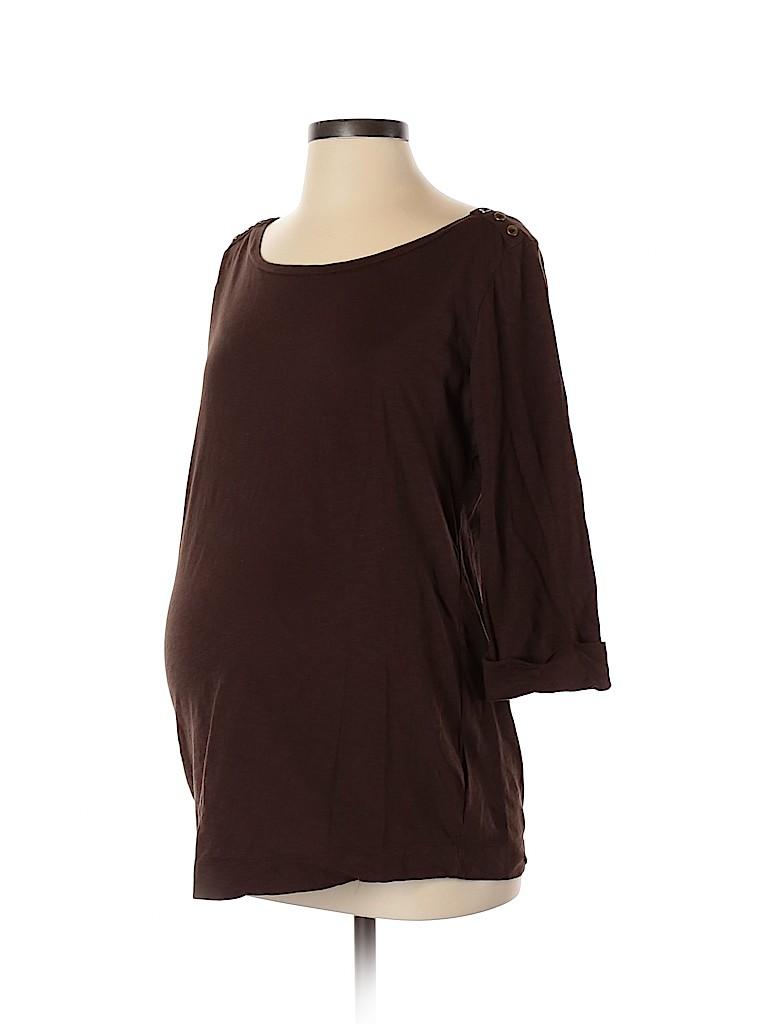 Motherhood Women 3/4 Sleeve Top Size M (Maternity)