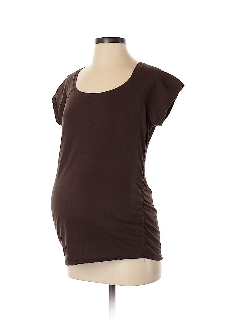 Motherhood Women Short Sleeve Top Size M (Maternity)